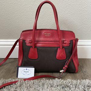 Authentic Red Prada Bag for Sale in Hayward, CA