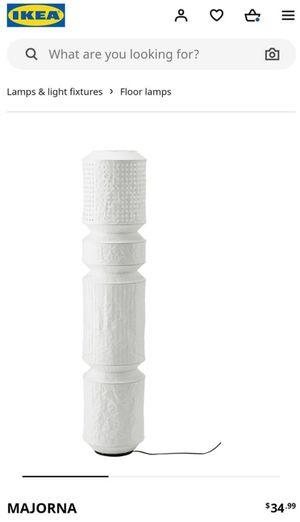 """NIB 55"""" White Lantern Floor Lamp for Sale in Denver, CO"""