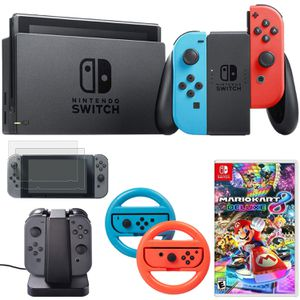 Nintendo Switch With Mario Kart + Accessories $70 OFF Retail for Sale in Salt Lake City, UT