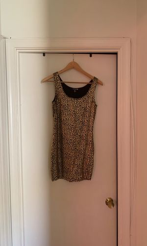 Sexy short cheetah/gold print dress for Sale in Upper Marlboro, MD