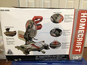 "Homecraft 10"" compound miter saw for Sale in Seattle, WA"