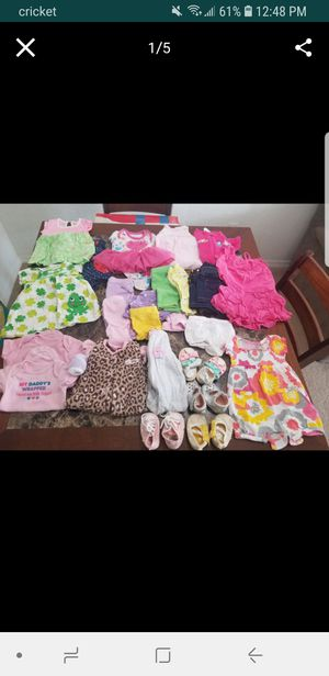 Baby Girl Clothes, NB to 3 months, 122 pieces + FREE TOY AND PORTRAIT for Sale in Orlando, FL