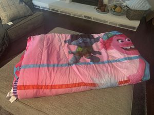 Trolls reversible blanket $15 obo for Sale in Garland, TX