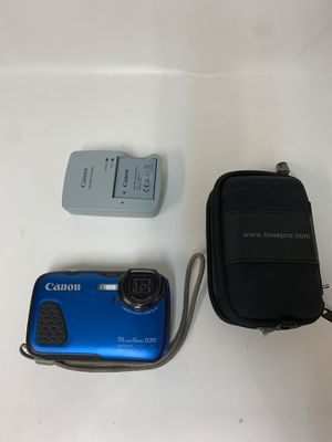 Canon PC2063 PowerShot D30 Travel Camera #7854-1 for Sale in Medford, MA