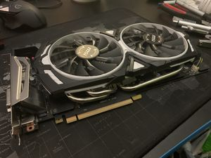 MSI Nvidia 1070 Armor 8GB PC GPU Graphics Card for Sale in Middle Valley, TN
