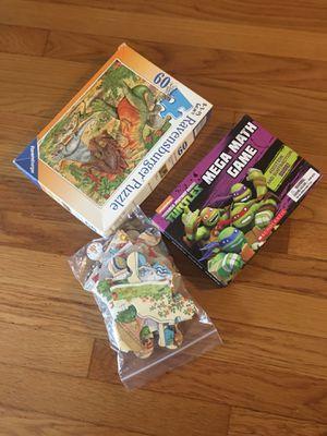 Puzzle games for Sale in Malden, MA