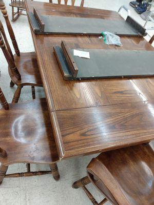 Kitchen table with 6 chairs. for Sale in St. Louis, MO