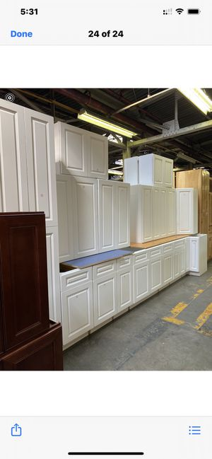 New kitchen cabinets slow closing doors sold only as a set for Sale in Bowie, MD