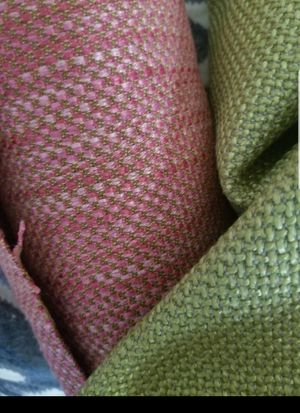 Designer coordinating upholstery fabric 6 yards FIRM $125 for Sale in Hollywood, FL