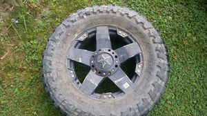 Rockstar HD 20 inch Wheel W/ Toyo Tire 37X13.50XR20, Nice Cond. For A Spare Princeton WV $150, will Meet in Princeton Area, for Sale in Princeton, WV
