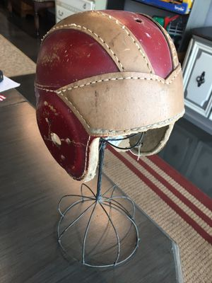 Antique leather Football Helmet for Sale in Tampa, FL