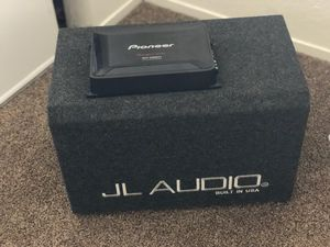 sub and amp for Sale in Las Vegas, NV