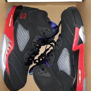 """Brand New Size 8 Mens /9.5 Women's Jordan Retro 5 """"Top 3 """" OG Half Box for Sale in Everett, WA"""