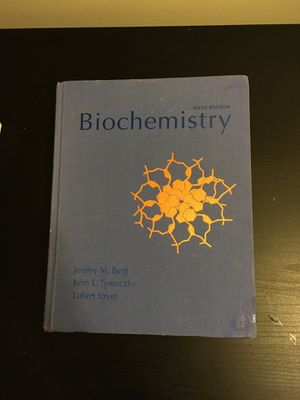 Biochemistry Textbook for Sale in Baltimore, MD