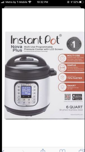 New instant pot 9 in 1 , 6 quart $55 best price no less for Sale in Norwalk, CA