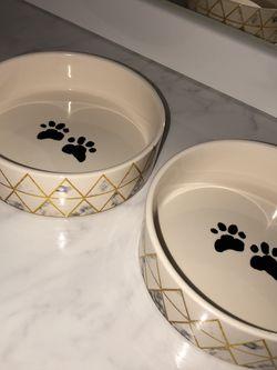 2 Ceramic Pet Bowls for Sale in Phoenix,  AZ
