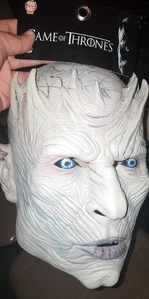 Game Of Thrones Night King Halloween Mask New for Sale in Chicago, IL