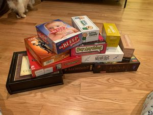 Assorted board games for Sale in Chestnut Hill, MA