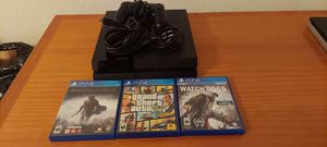 Sony PlayStation 4 PS4 500GB Console 1 Controller, 3 Games CUH-1001A Tested for Sale in Miami, FL