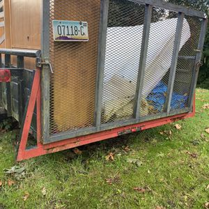 Trailer 7'x17' Good For landscapeing Or ATV tires Are Very Good Title In Hand$3000 OBO for Sale in Buckley, WA