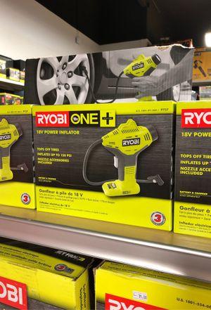RYOBI 18v Power Inflator (Tool Only) for Sale in Garden Grove, CA