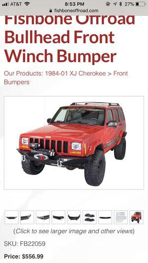 Jeep xj front bumper for Sale in Phoenix, AZ