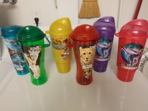 Refillable Busch Gardens Cups - 5 bucks each for Sale in Tampa, FL