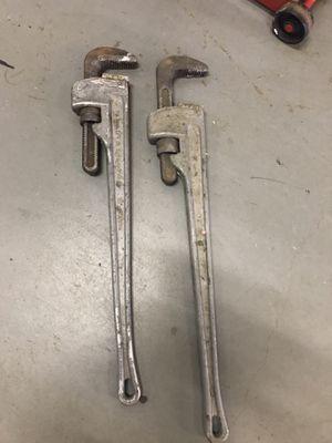 "2 -36"" ridgid pipe wrench for Sale in Alexandria, VA"