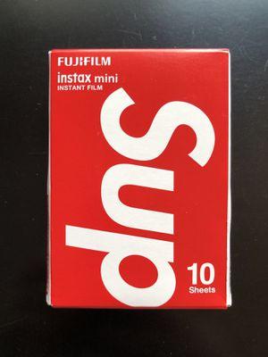 Supreme FujiFilm instax (10 sheets) for Sale in Buffalo, NY