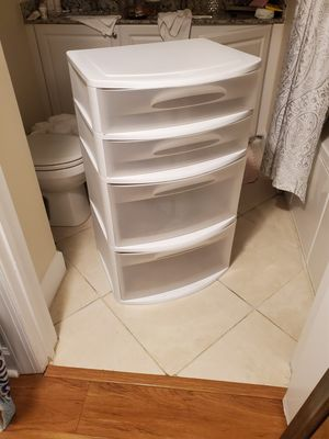 Plastic drawers for Sale in Delray Beach, FL