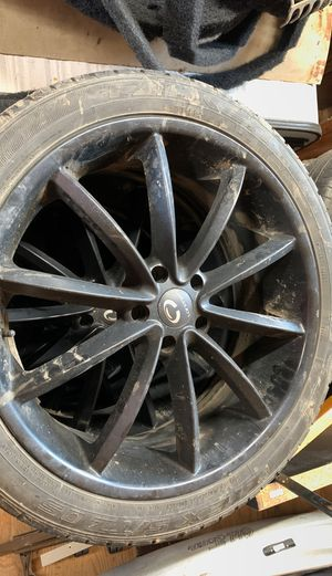 Wheels and tires set of four for Sale in Bentleyville, PA
