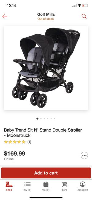 Baby trend double stroller for Sale in Des Plaines, IL