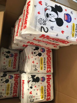 Huggies diapers Size... 1,2,3,4,5 $$$ 5 each bags for Sale in Pompano Beach, FL
