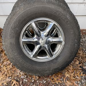 GMC Rims And Matching Tires With Lots Of Life for Sale in Cranston, RI