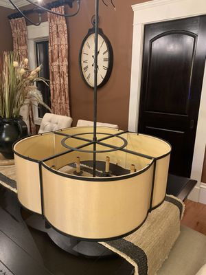 Currey & Company Chandelier $600 or best offer for Sale in Taunton, MA