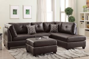 Leather Sectinal for Sale in Manassas, VA