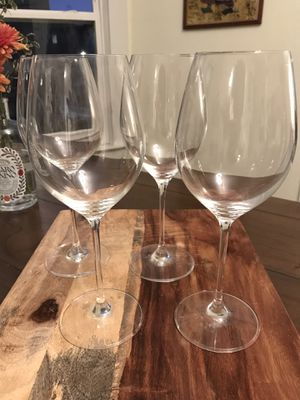 Crate & Barrel Long Stem Wine Glasses for Sale in Seattle, WA