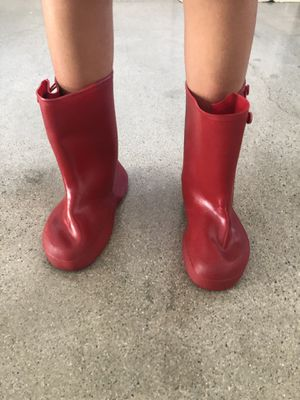Red Rain Boots Child's size 12 for Sale in Irwindale, CA