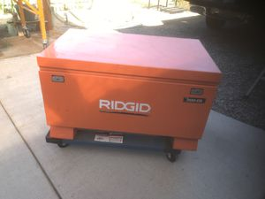 Ridgid portable tool box for Sale in Grandview, WA