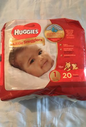 Huggies size 1 for Sale in Queens, NY