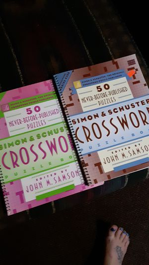 Crossword puzzle books for Sale in LAUREL PARK, WV