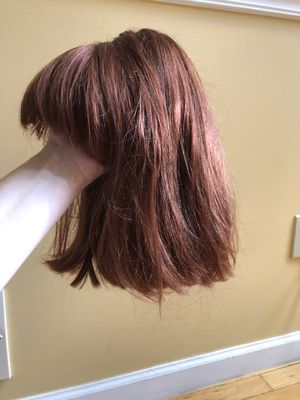 Reddish brown short hair wig halloween for Sale in Brooklyn, NY