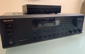Onkyo Stereo Receiver Radio AM FM Russound Speaker Selector for Sale in Fort Worth, TX