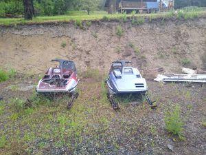 2 Entiser 340 snowmobiles for Sale in Leavenworth, WA