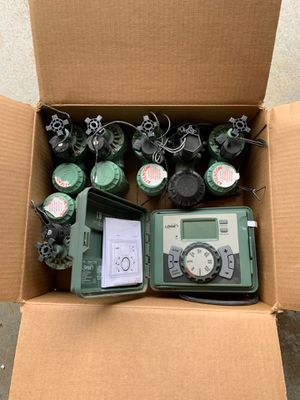 Valves and timer for Sale in Fullerton, CA