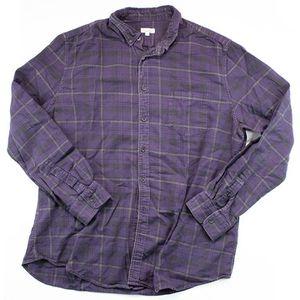 Steven Alan Purple Plaid Button Up Shirt for Sale in Sacramento, CA