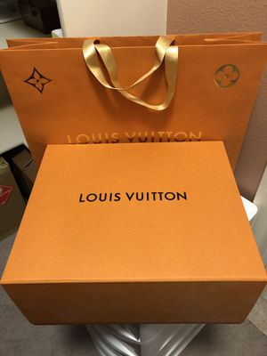 Louis Vuitton box and shopping bag for Sale in Portland, OR