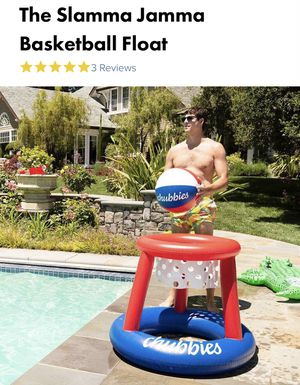 Chubbies Slamma Jamma Basketball Float with Coleman Quickpump for Sale in Austin, TX