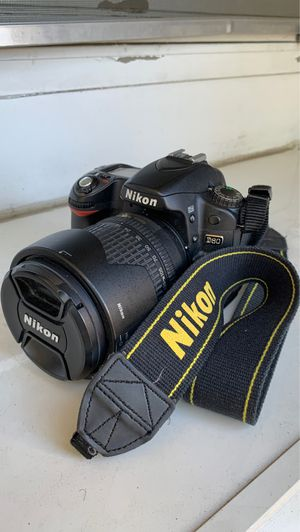 Nikon D80 with 18-135mm lens for Sale in San Diego, CA