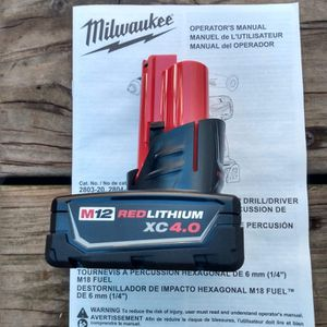 New M12 4.0Ah Battery for Sale in Oklahoma City, OK